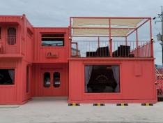 나주 핑크 컨테이너 카페
